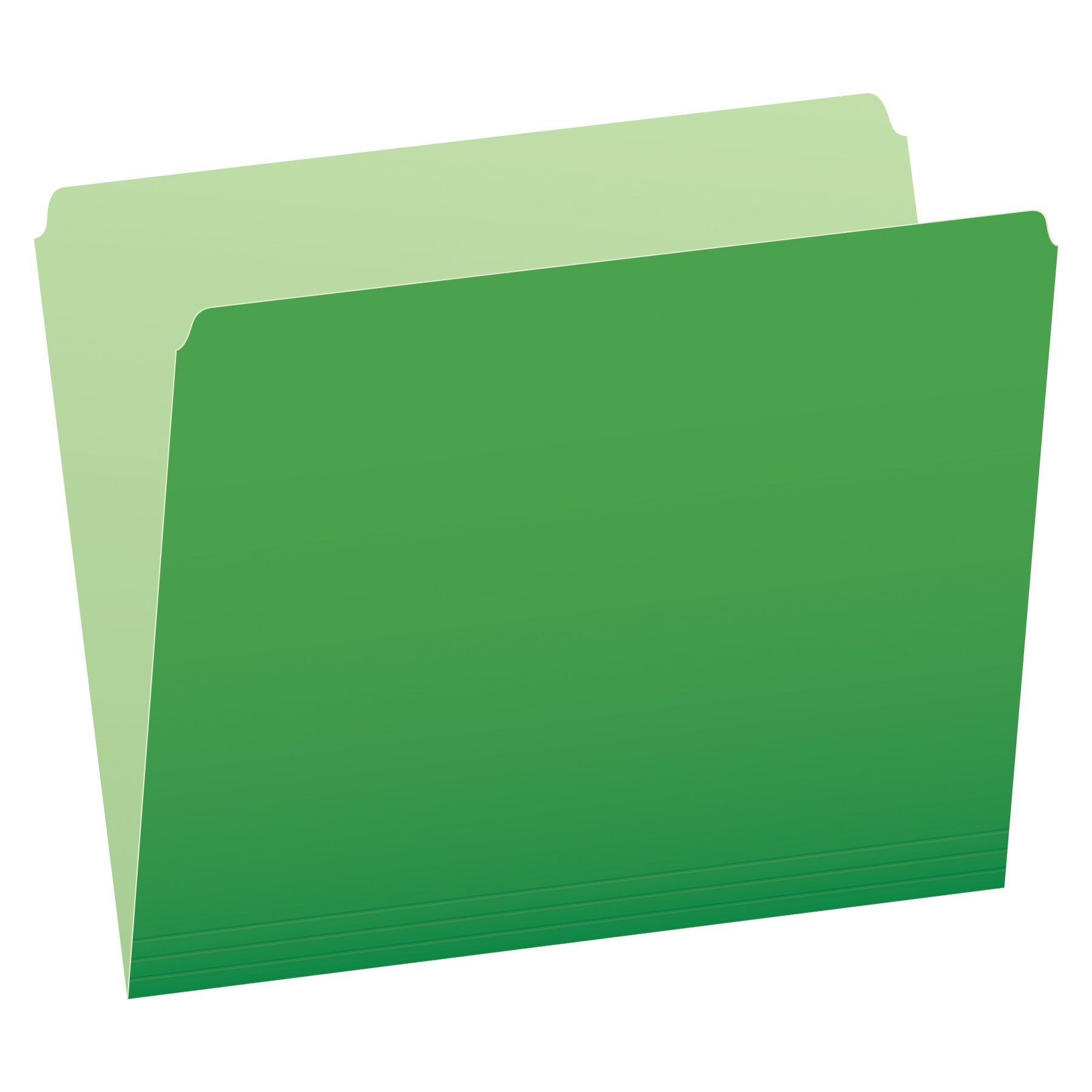 Pendaflex Colored File Folders, Green (PFX152BGR) by Pendaflex