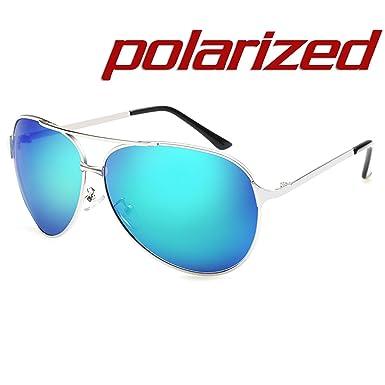 JULI EYEWEAR JULI Mode Polarisées Aviateur Lunettes de soleil Homme Femme  UV400 Protection Magnésium d  02c53a24f7c9
