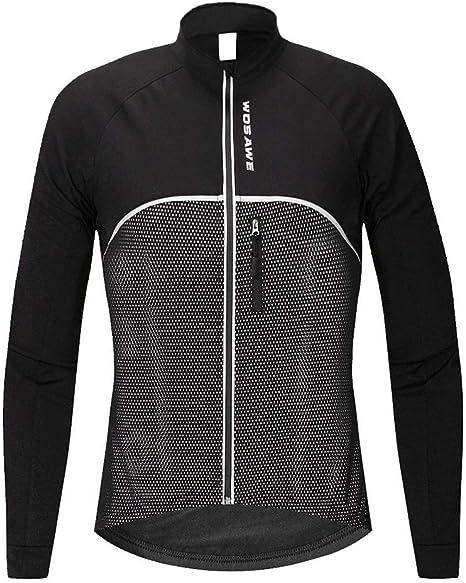 Traje de Montar en Bicicleta de montaña Otoño Invierno Camisa de Manga Larga Chaqueta Fleece Ropa de Bicicleta cálida Jersey de Bicicleta LPLHJD: Amazon.es: Deportes y aire libre