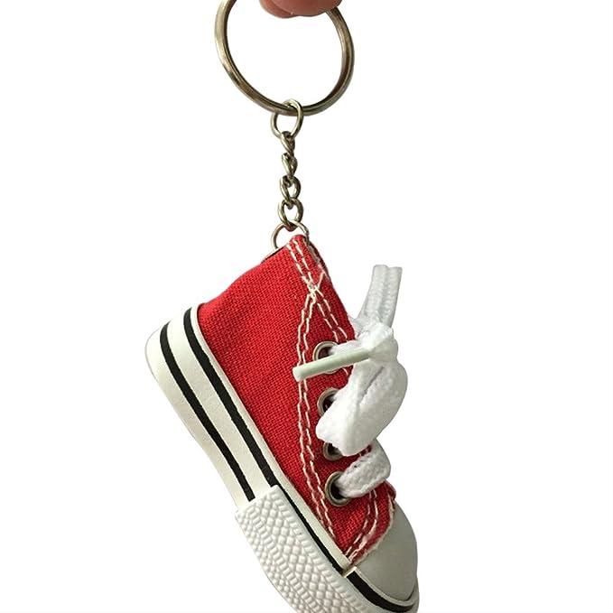 Amazon.com: 6pcs 6 colores Mini Canvas Sneaker Zapato ...