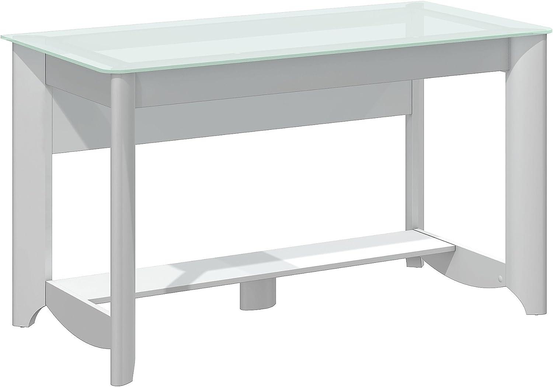 Aero Writing Desk in Pure White