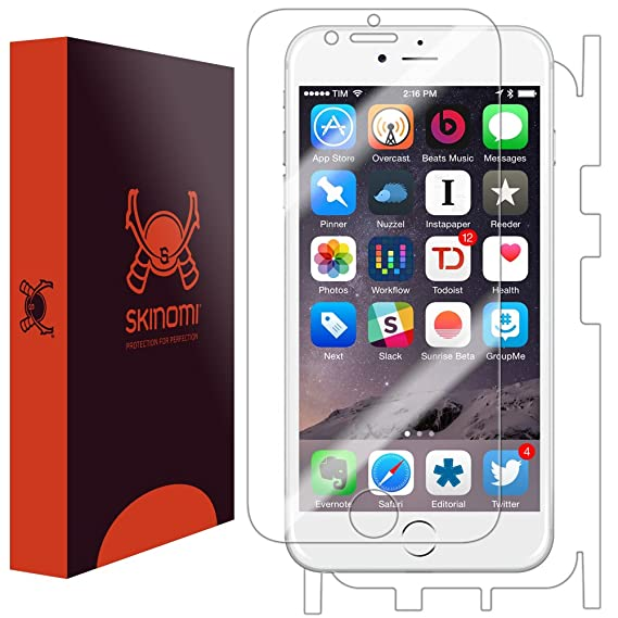 the best attitude 14305 f52fd iPhone 6 Screen Protector + Full Body (Apple iPhone 6S 4.7