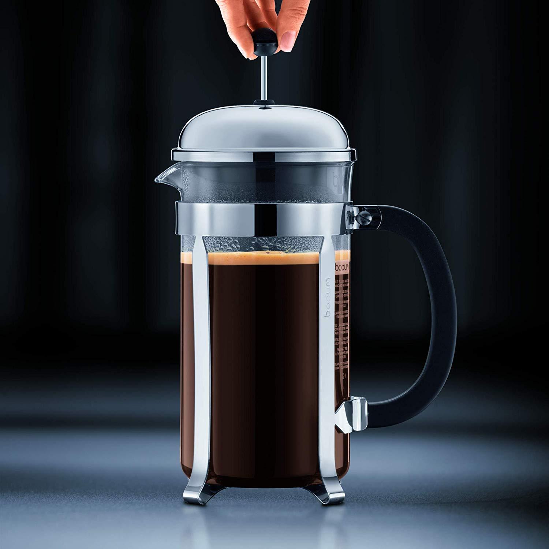 LOOITUY Cafetera, 0.5 L / 17 oz - Brillante: Amazon.es: Hogar
