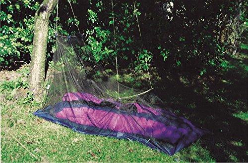 Brettschneider Moskitonetz Outdoor mit Boden, Keilform, Polyester Insektenschutz Fliegennetz Fliegengitter Moskitozelt