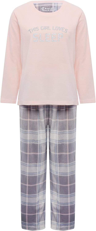 M/&Co Ladies Check Print Pyjama Bottoms