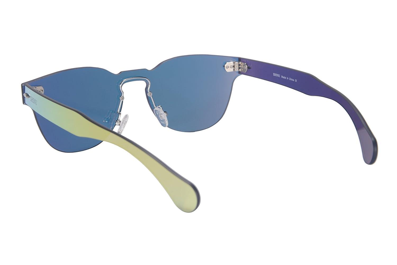 SHINU Classic Occhiali da Sole Dello Specchio del Telaio Della Cornice di Stile uno Stile Occhiali da Sole UV400 Protezione Occhiali da Sole-SH71002(c3) p1ykUX