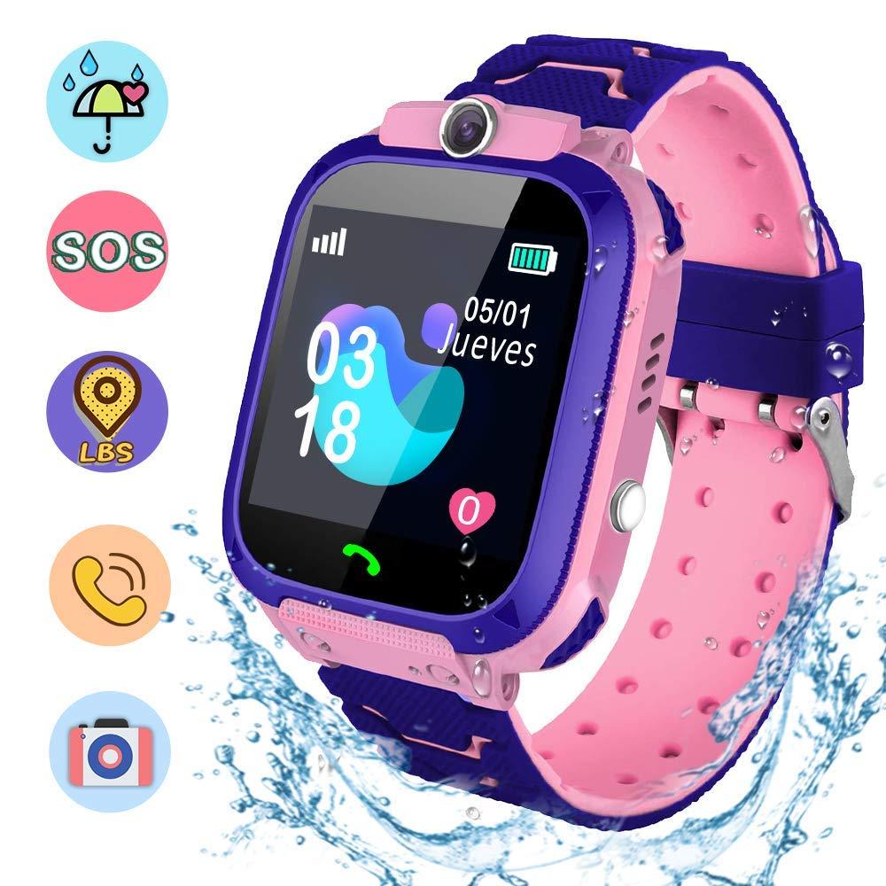 Smartwatch Children, Smart Watch Girl IP67, LBS, Make Call ...