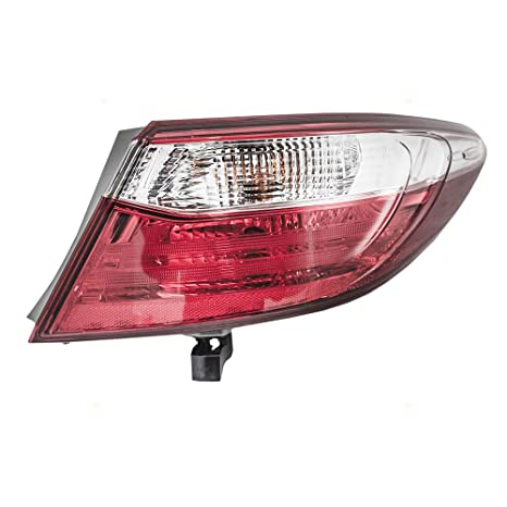 FITS TOYOTA CAMRY 15-16 TAIL LAMP LEFT 8156006640