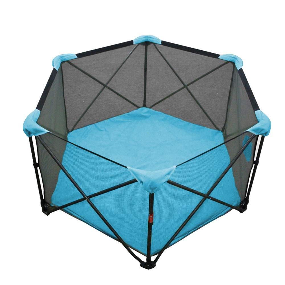 Djyyh 赤ん坊の塀の安全ベビーサークルボールピットのプール、通気性の網が付いている安全で容易な折目ベビーサークル   B07TT1ZVN3
