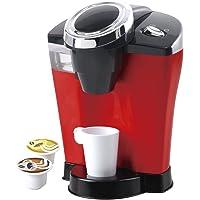 Playgo - Cafetera gourmet eléctrica con tazas y cápsulas (ColorBaby 42544)