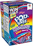 Kellogg's Frosted Pop Tarts, Wild Berry, 8 ct