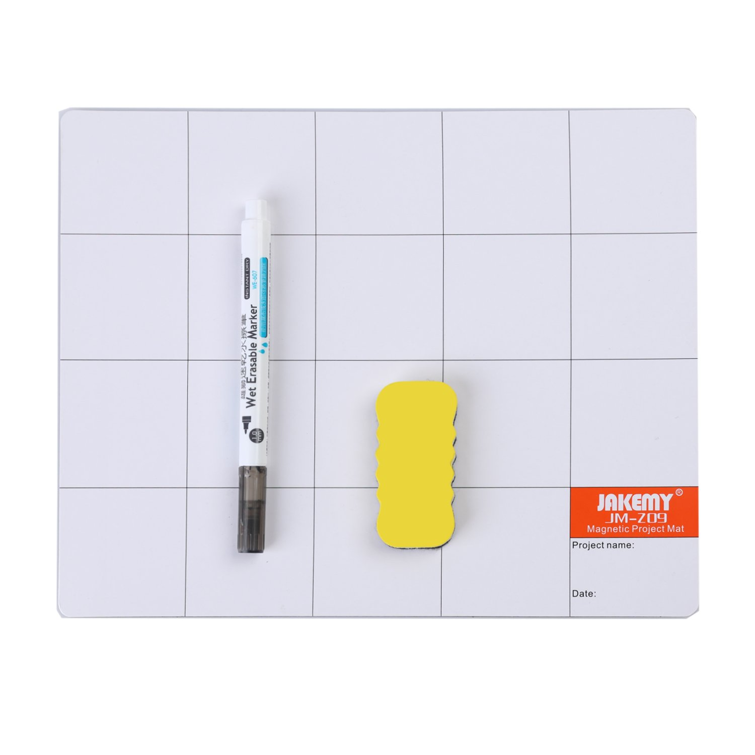 Magnetic Screw Mat Prevent Small Screws Losing 9.8 x 7.9 inches Magnetic Project Mat Rewritable Work Mat