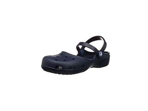 Crocs Karin Clog W Mary Jane, Donna, Blu (Navy 410), 41/42