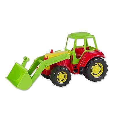 47cm en plastique Tracteur avec chargeur frontal - Boys Toys - Jouets Tracteurs [Jouet]