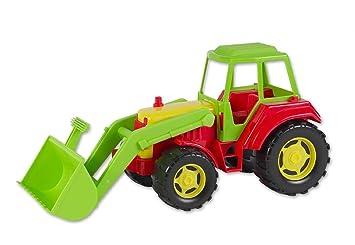 Cm plastic traktor mit frontlader jungen spielwaren