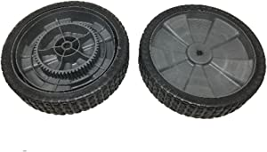 Brinly Set of 2 Hardy Tow Behind Pull Leaf & Lawn Sweeper Drive Wheel 1008987