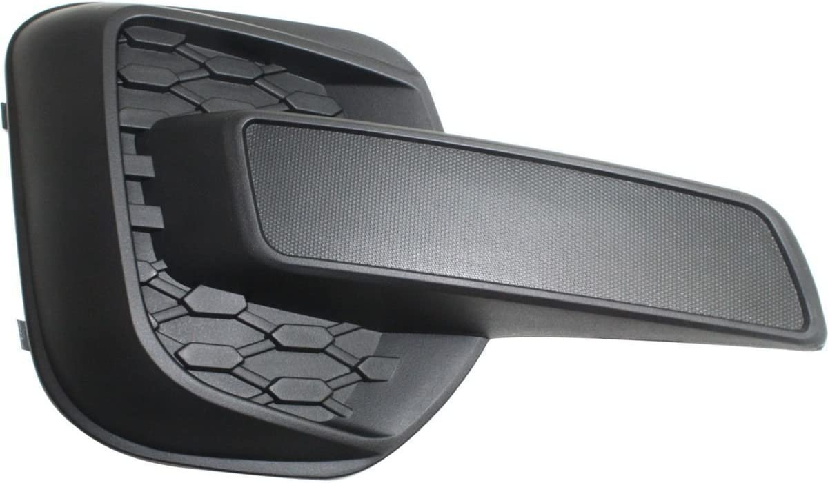 DAT AUTO PARTS Fog Hole Cover Replacement for 2010-2015 Chevrolet Equinox for All LS Models LT Without FOGS Right Passenger Side Black GM1039128