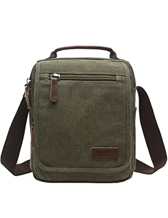 Vertical Canvas Messenger Bag cf0a6d0567de8