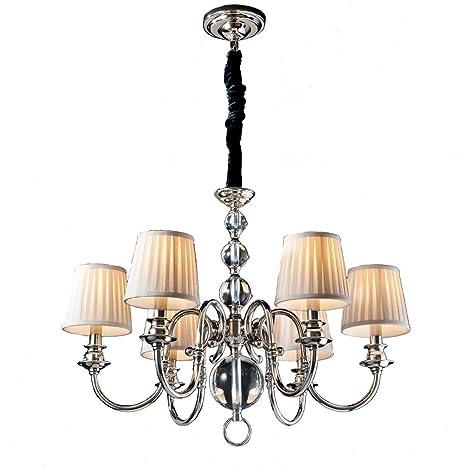 Schuller 682296 Holandesa 6 brazo lámpara de techo de Metal ...