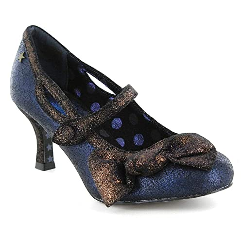 dff083cd68014 Joe Browns Couture Women's Blue Metallic Jezabel Mary Jane Shoes UK 5:  Amazon.co.uk: Shoes & Bags