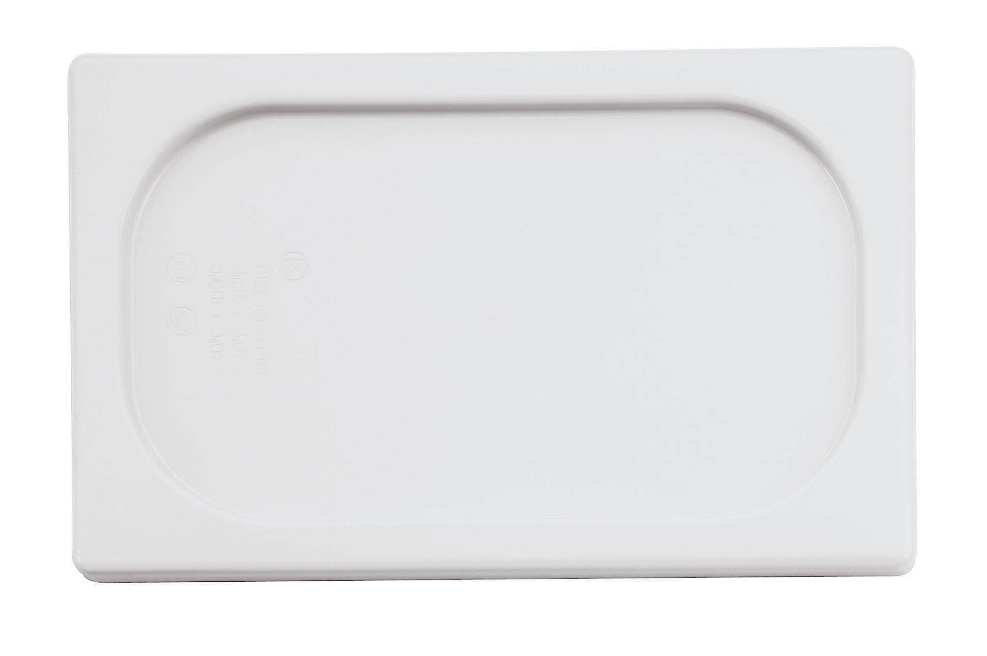 Paderno World Cuisine 20 7/8 inches by 12 3/4 inches Clear Polypropylene Hotel Food Pan Lid - 1/1