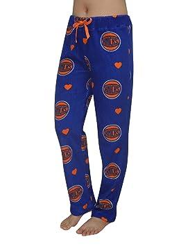 Para mujer New York Knicks forro polar pijamas/pijama para hombre, talla S,