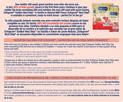 Enfagrow Next Step Natural Milk Powder Can, 24 Ounce (Pack of 4)