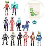 Vercico 12 Piezas 5 Pulgadas Figuras de acción Juguetes Figuras decoración del hogar Navidad