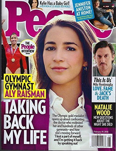 People Magazine February 19 2018 ~ Aly Raisman