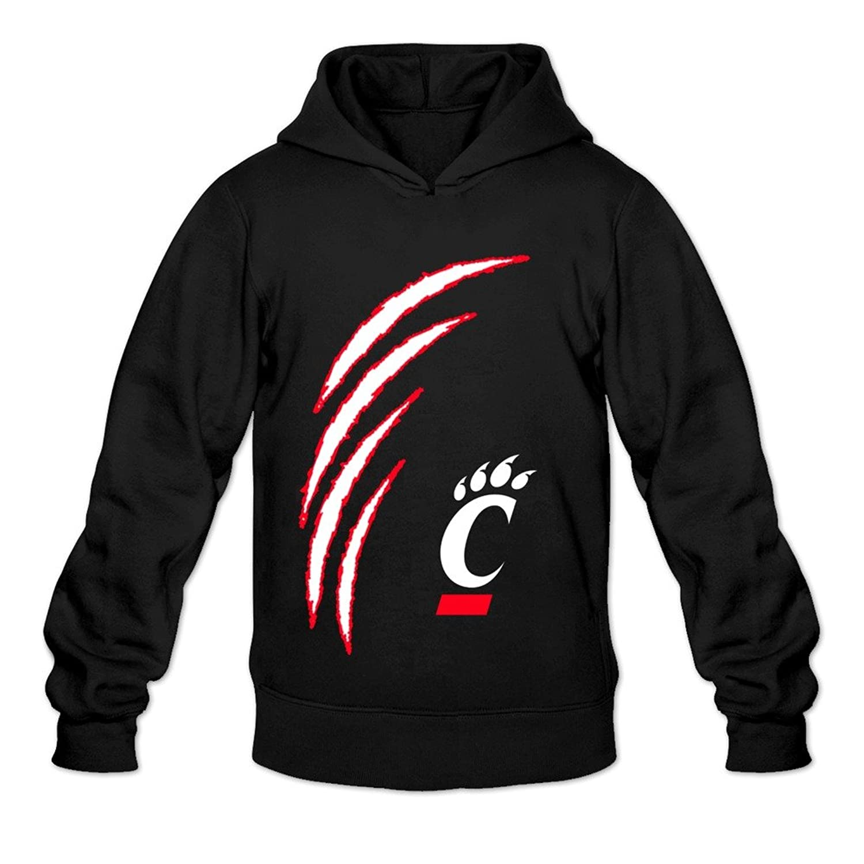 Cheap Men S University Of Cincinnati Bearcats Football Logo Hoodies Black Ngaleria Ayz Pl