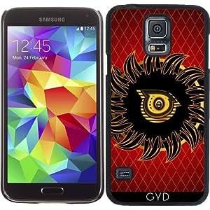 Funda para Samsung Galaxy S5 (SM-G900) - Monograma Diseño O by nicky2342