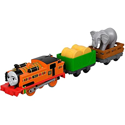 Fisher-Price Thomas & Friends TrackMaster, Nia & Elephant: Toys & Games