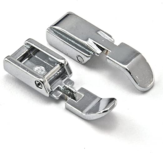 Prensatelas para Cremallera para máquinas de Coser Brother, Janome, Toyota, Singer: Amazon.es: Electrónica