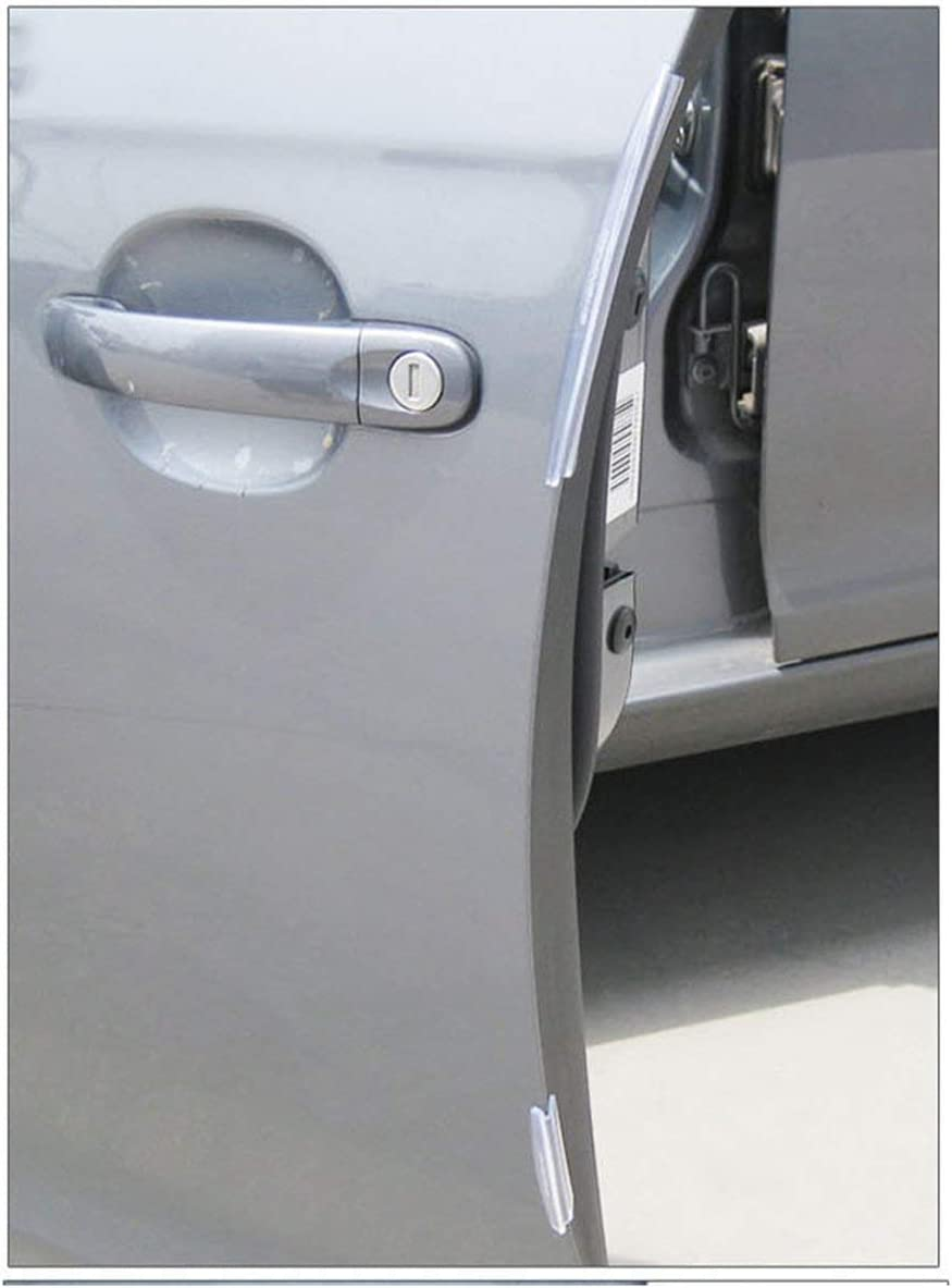 Ballylelly 8pcs Voiture SUV c/ôt/é Porte Bord Protecteur Protection Bande gratter Garde Pare-Chocs gardes poign/ée Couvercle