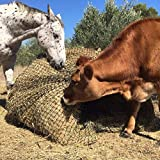 Aoneky Bale Hay Net -Average Feed Haynet for Horses - 6 x 6 ft