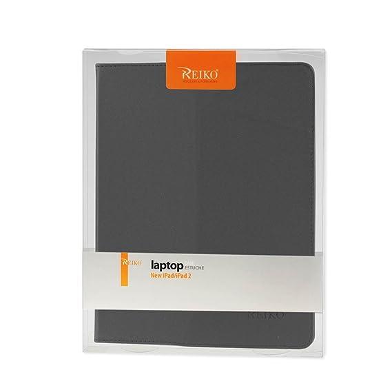Amazon.com: Reiko iPad 3 Premium Leather Fitting Tablet Case ...
