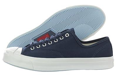 Converse Jack Purcell Signature Ox 149913C Navy/White Canvas Ortholite  Unisex Shoes (10.5 B