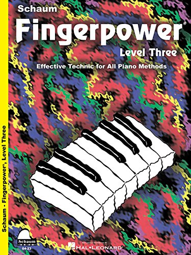 Fingerpower - Level Three: Effective Technic for All Piano Methods (Schaum Publications Fingerpower(R))