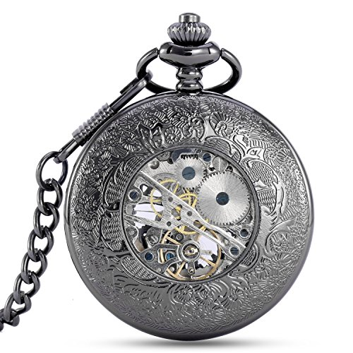 Alienwolf-Pocket-Watch-Steampunk-Pocket-Watch-with-Cool-Chain-for-Men-Women-Bronze