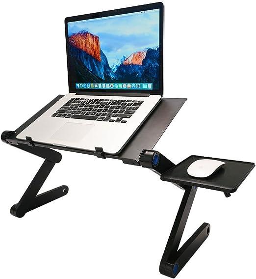 360 ° ajustable con ventilación para ordenador portátil mesa para ...