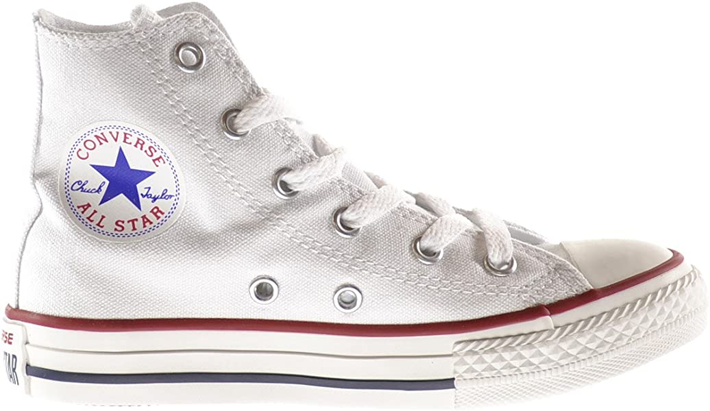 a4295ef6f4d6 Converse Chuck Taylor Core HI Little Kids Shoes Optical White 3j253 (1 M US)