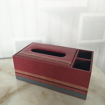 Daeou Caja de tejido para el hogar, la oficina, vehículos de decoración de automóviles