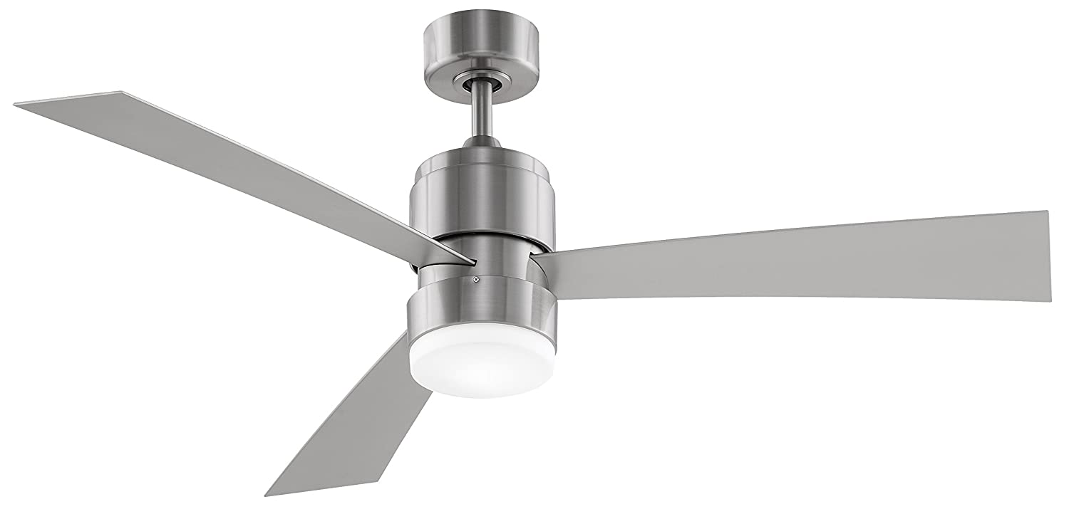 Fanimation fp4650bn 54 inch zonix ceiling fan with blades and fanimation fp4650bn 54 inch zonix ceiling fan with blades and led light kit with remote brushed nickel lighting products amazon aloadofball Images