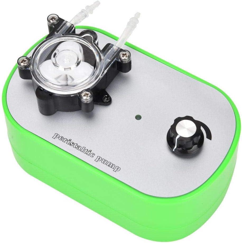 Yanmis High Flow Peristaltic Pump, 100-240V G728-1 Small Peristaltic Pump Food Grade Self-Priming Pump (40-160ml/min G728-1-3)