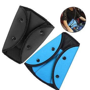 Amazon.com: Ajustador de cinturón de seguridad, protector de ...