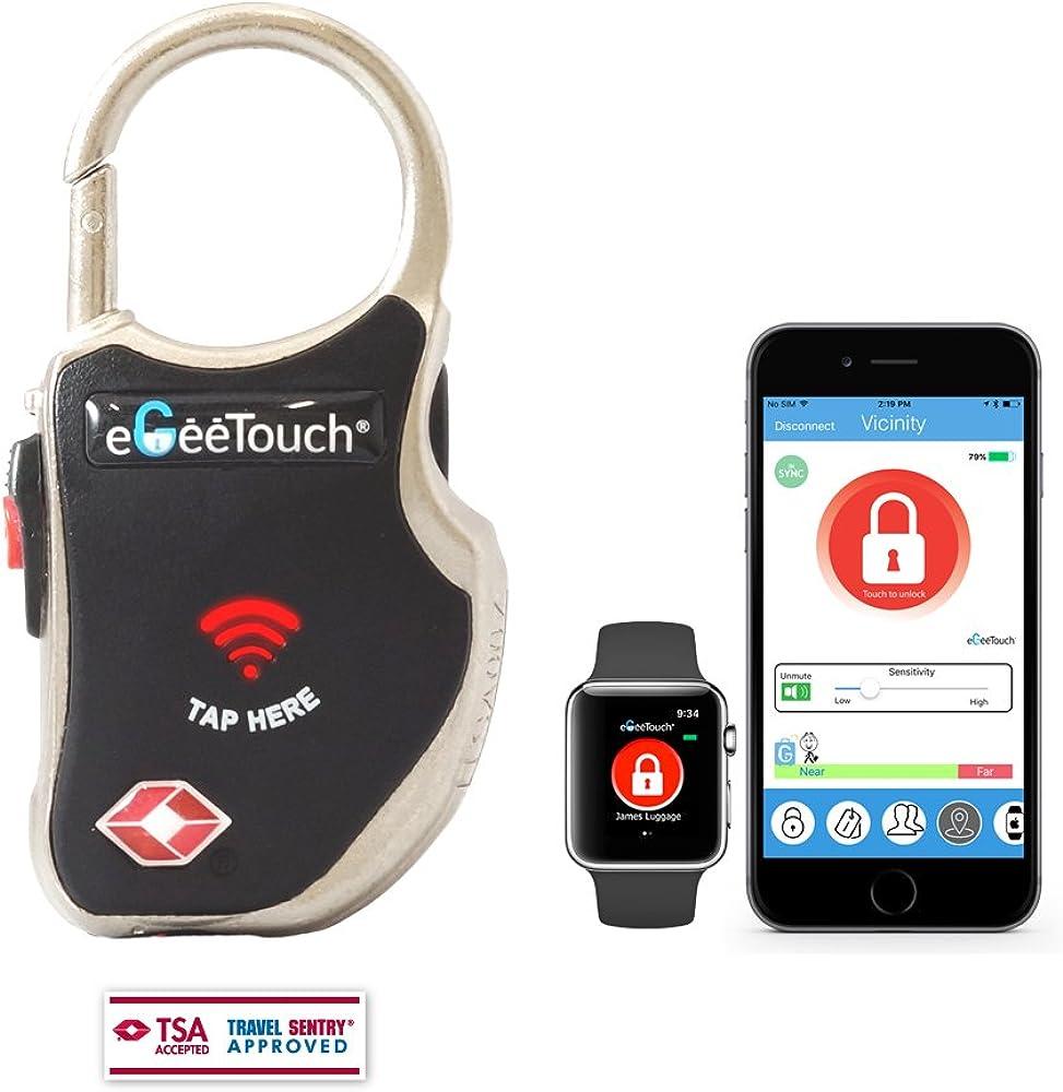 EgeeTouch Smart Travel Lock Black