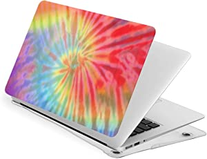 Tie-Dye 13 Inch Case Laptop Sleeve Bag for MacBook Air Printing PVC Notebook Computer Case,Compatible