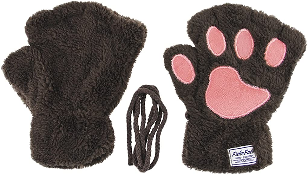 Cat Paw Claw Fingerless...
