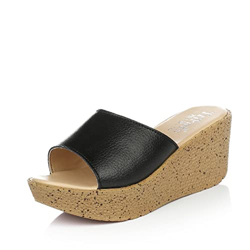 195a8e803 the summer Lady s slippers  wearing flip flops Sandals Women   shoes Really  Pison cake slope with the Korean versionWomen   shoes  fashion slippers ...