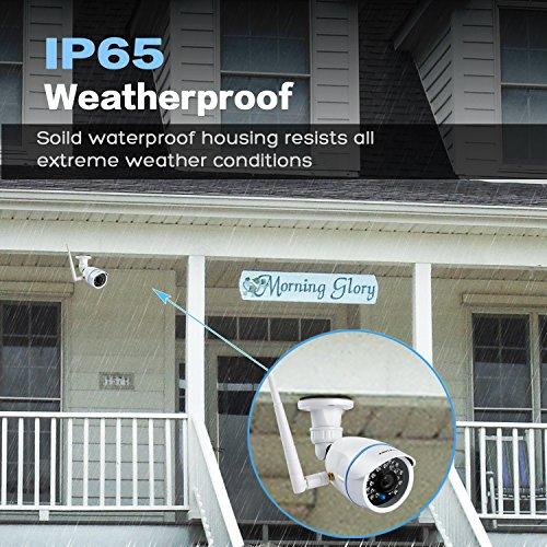 KAMTRON Wireless Security Camera,Outdoor WiFi Surveillance Camera